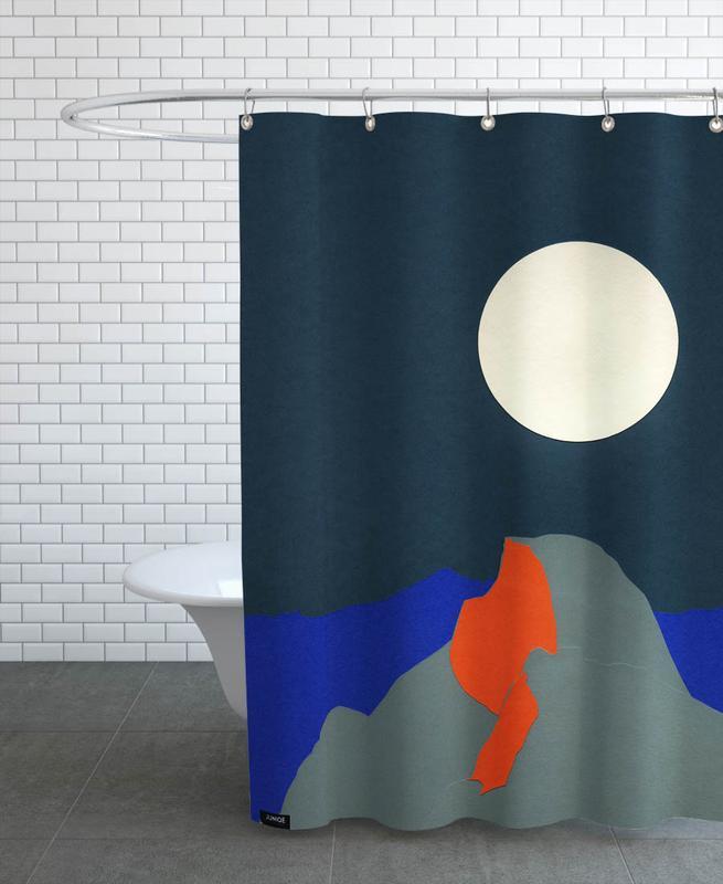 Half Dome Shower Curtain