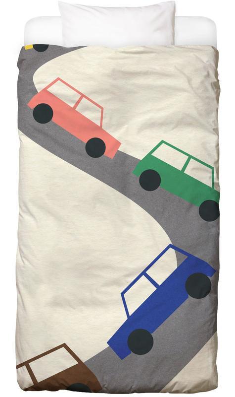 Traffic Kids' Bedding