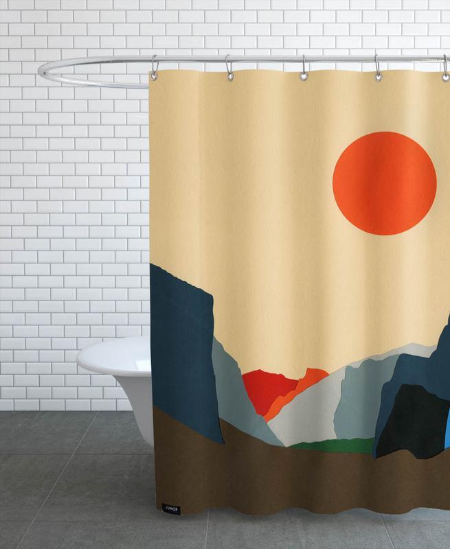 Mountains, Yosemite Valley Shower Curtain