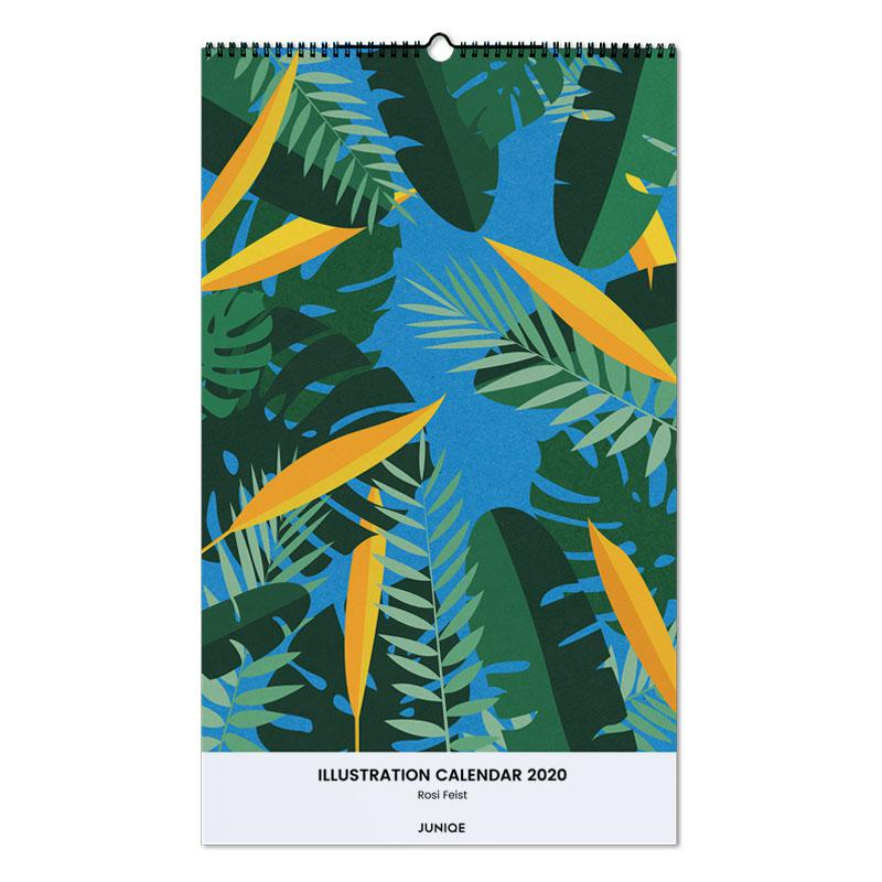 Illustration Calendar 2020 - Rosi Feist Wall Calendar