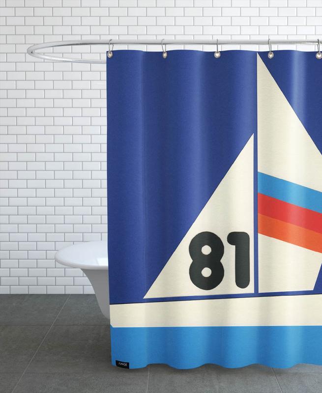 Sailing Regatta 81 -Duschvorhang