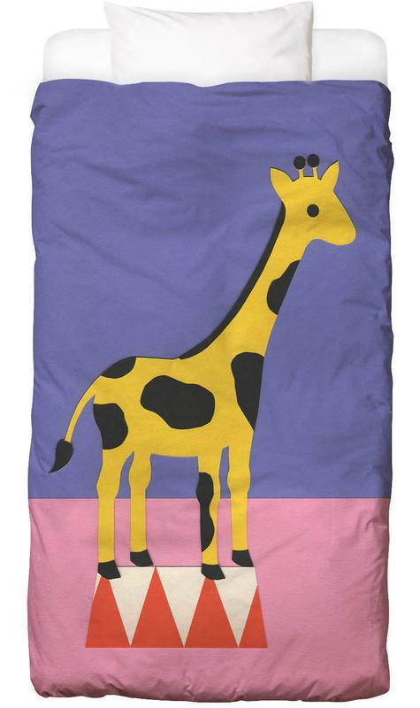 Giraffen, Kinderzimmer & Kunst für Kinder, Giraffe Aloopi Bettwäsche