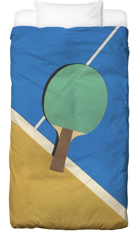 Table Tennis Team Green Kids' Bedding