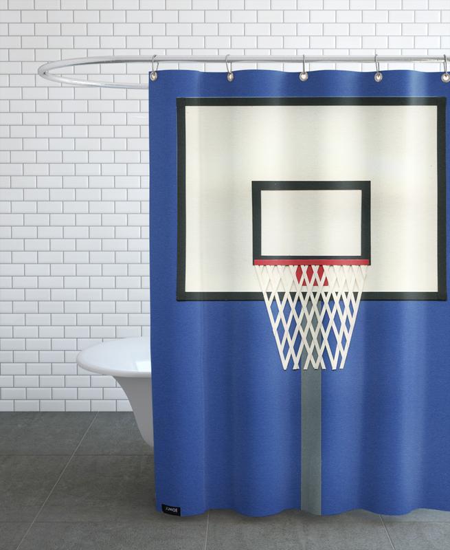 Basket-ball, Oakland Basketball Team III rideau de douche