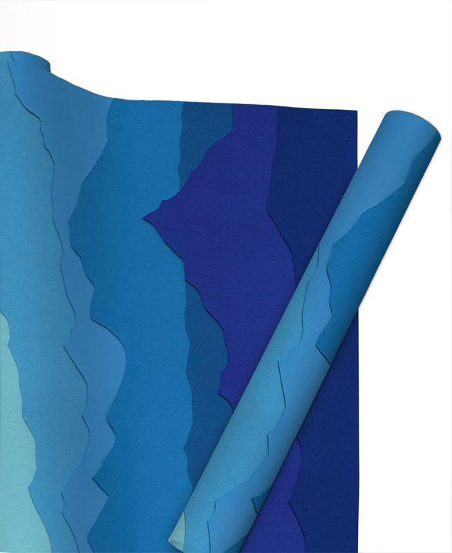 Blue Mountains Gift Wrap