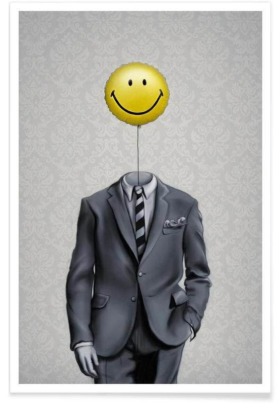 Mr Smiley -Poster