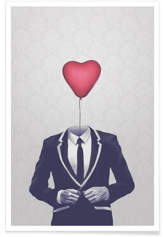 Cœurs, Saint-Valentin, Mr Valentine affiche
