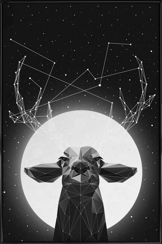 The Banyan Deer Framed Poster