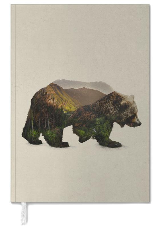 Ours, Art pour enfants, North American Brown Bear agenda