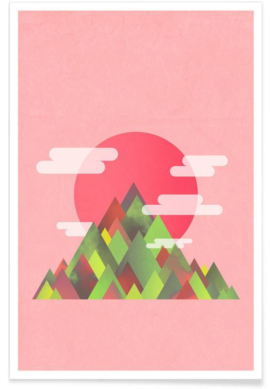 Montagnes, Pink Peaks affiche