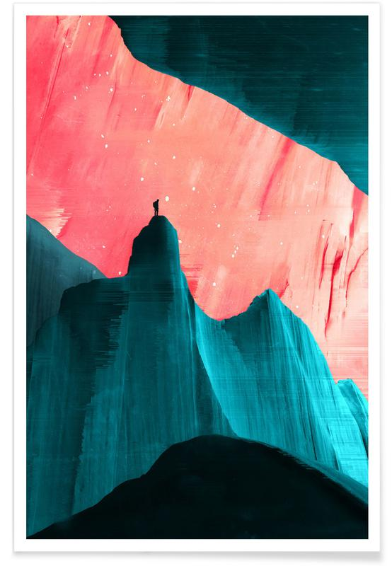 Abstract Landscapes, We Understand Only After Poster