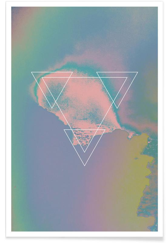 , Etna Holographic 1983 poster