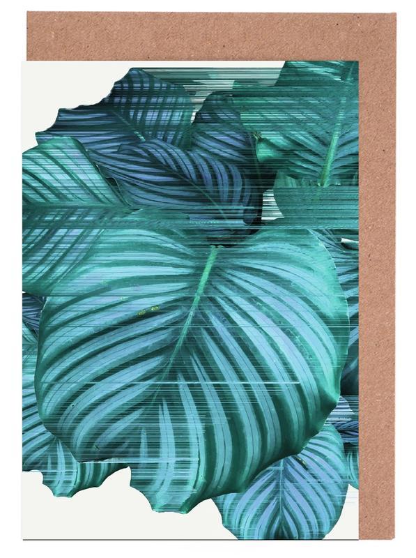 Bladeren en planten, Fast Calatea wenskaartenset