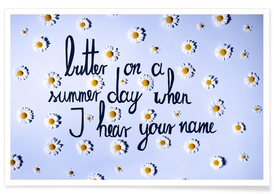 Citations d'amour, Marguerites, Butter affiche