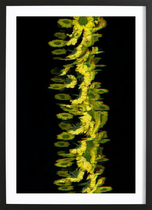 Flora II ingelijste print