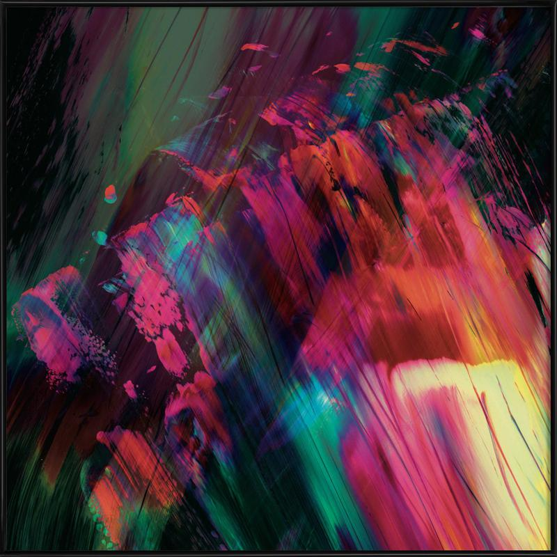 Coloride Framed Poster