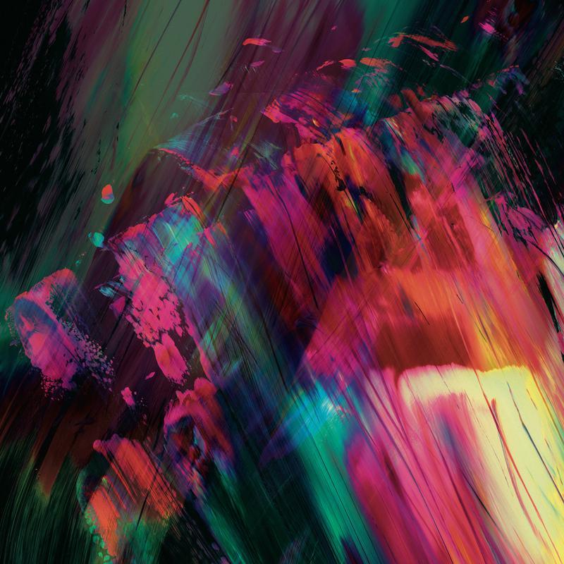 Coloride -Acrylglasbild
