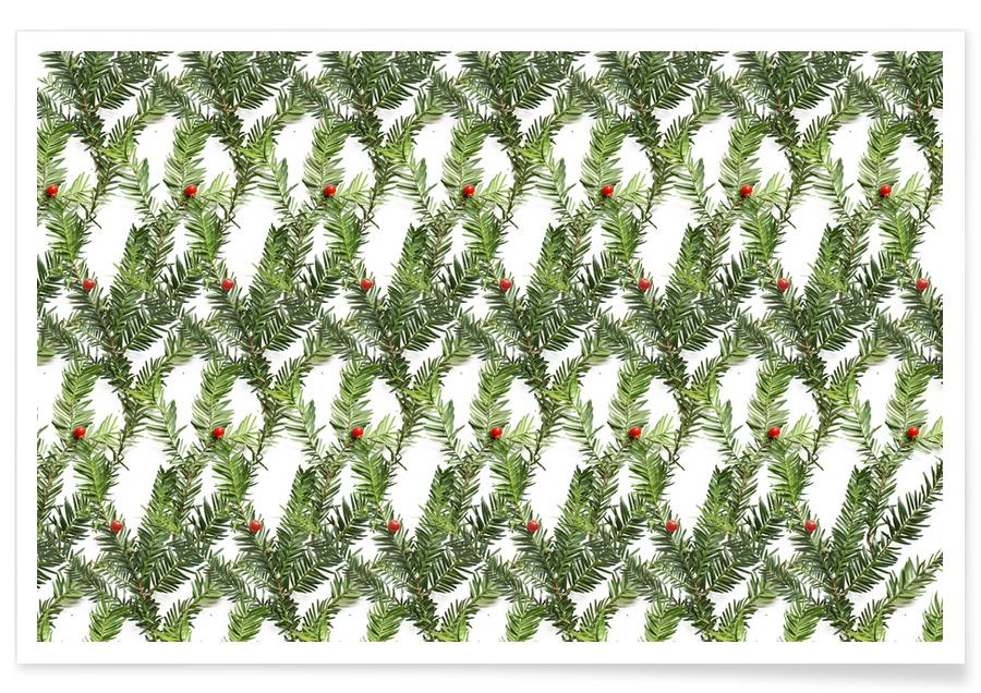 Christmas, Patterns, Leaves & Plants, PATTERN AUTUNNALE II Poster