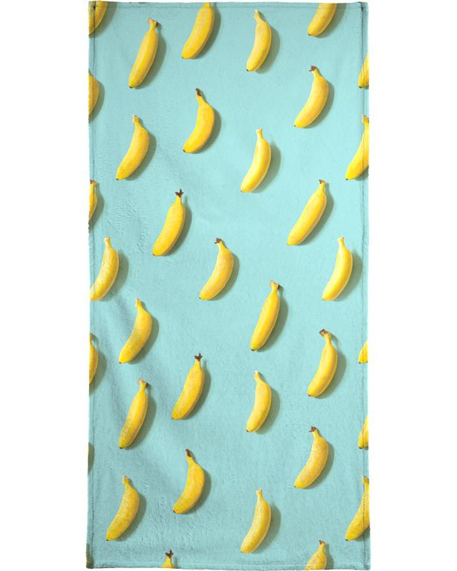 Banane -Strandtuch