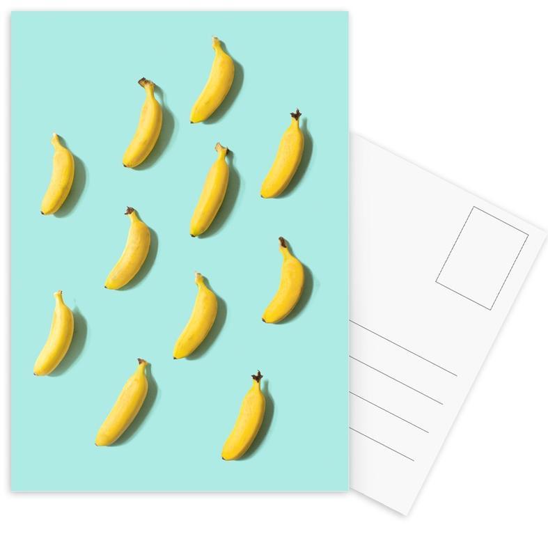 Bananen, Banane ansichtkaartenset