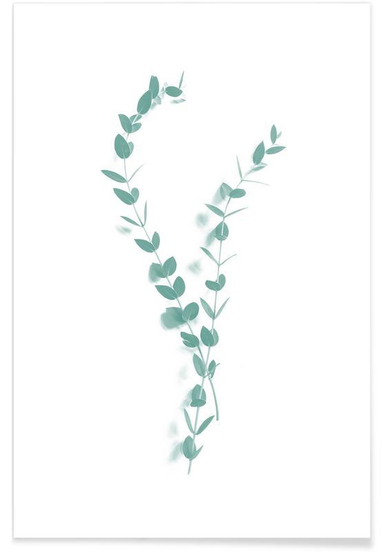 Leaves & Plants, Foglioline I Poster