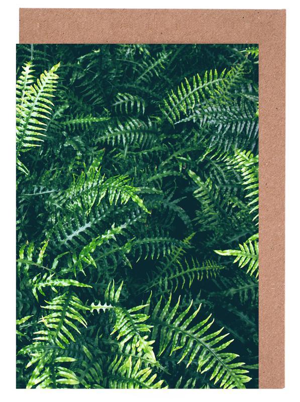 Blätter & Pflanzen, Leaves I -Grußkarten-Set
