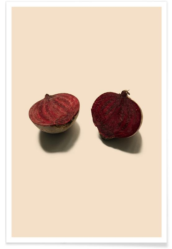 , Red Beetroots Poster