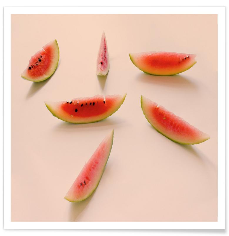 Wassermelonen, Angurie I -Poster