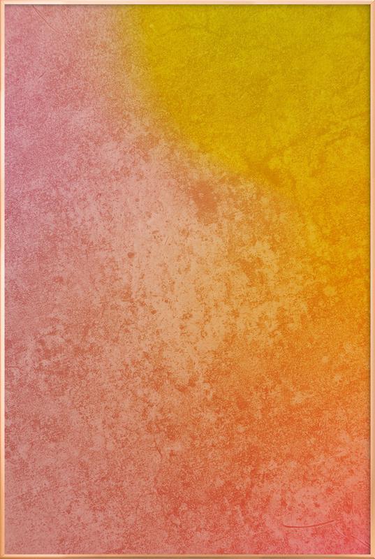 Mars -Poster im Alurahmen