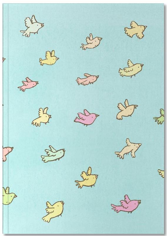 Kunst voor kinderen, Flying Birds Notebook