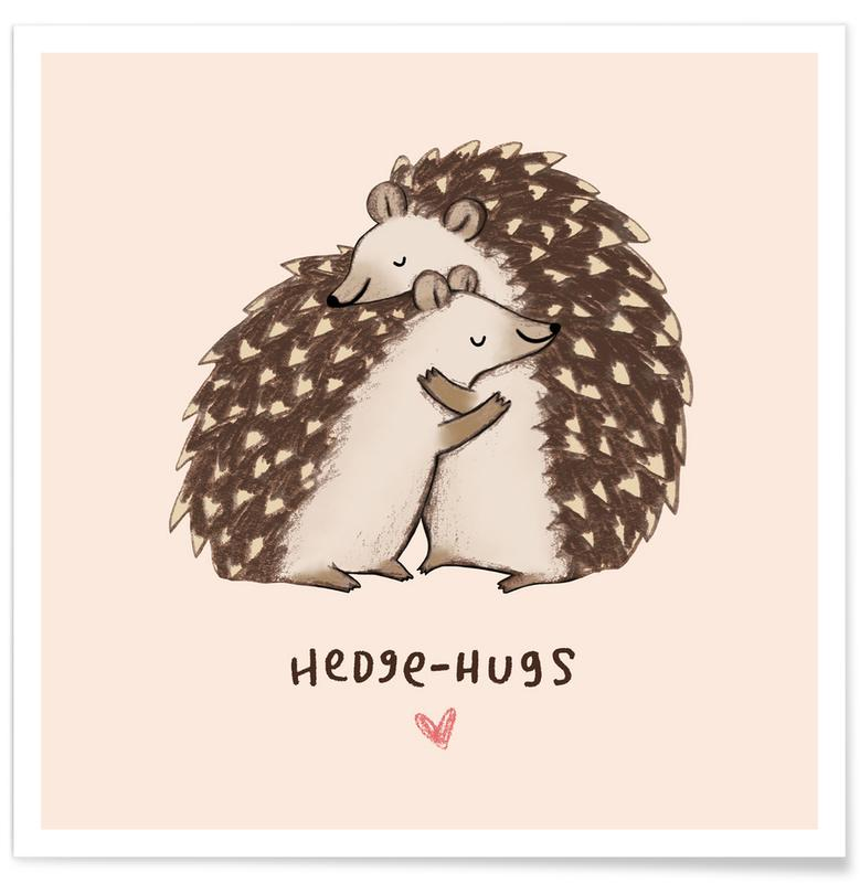 Hedgehugs Poster