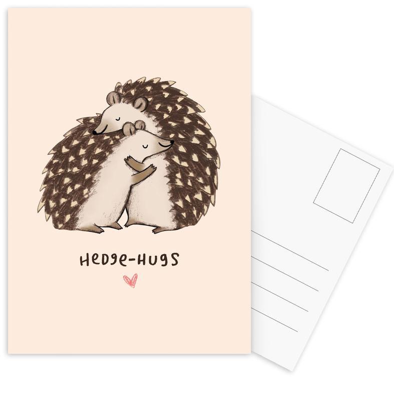 Hedgehugs -Postkartenset