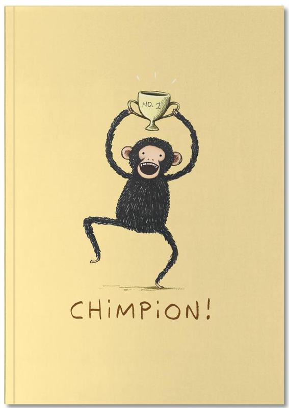 Humour, Singes, Chimpion Notebook