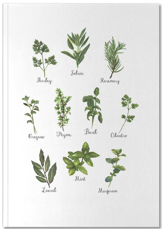 Herbs Collection Notebook