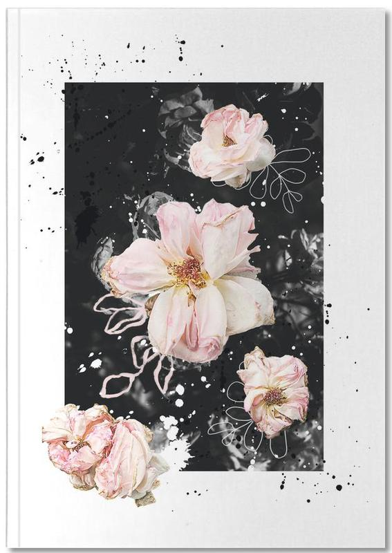 Floral Collage N1 Notebook