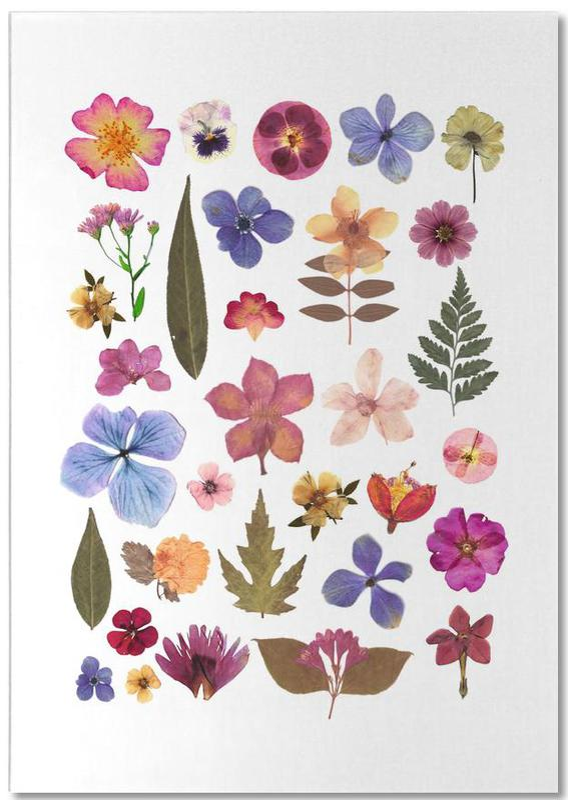 Pressed Flowers 01 Notepad