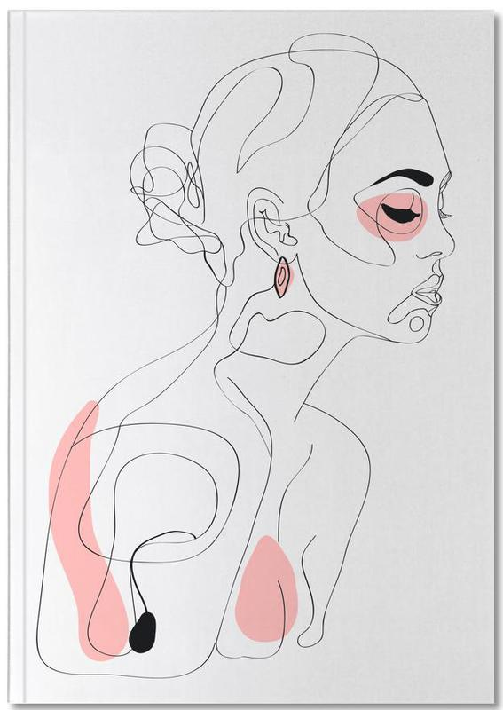 One Line Girl Part 1 Notebook