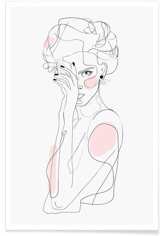 Illustrations de mode, Portraits, Freaq Sista affiche