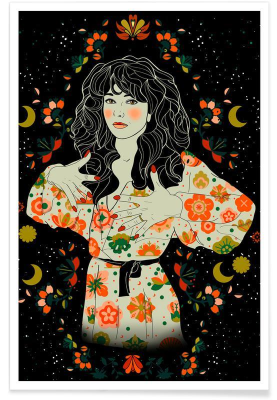 , Kate Bush Poster