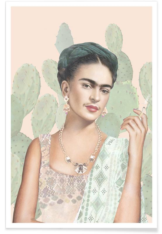 Frida Kahlo, Couture Mexicaine poster