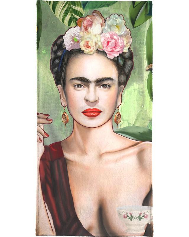 Frida Con Amigos -Handtuch