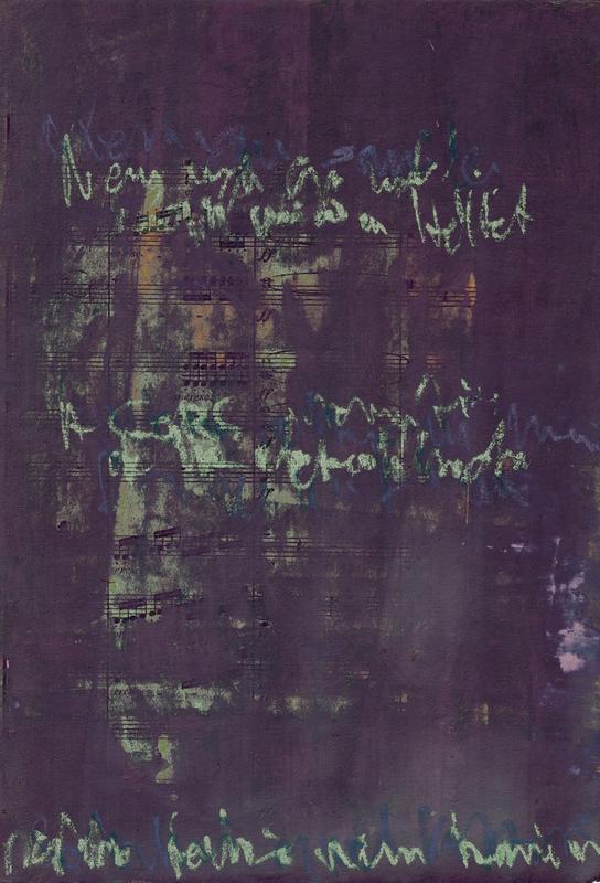 Transcriptions 02 -Acrylglasbild