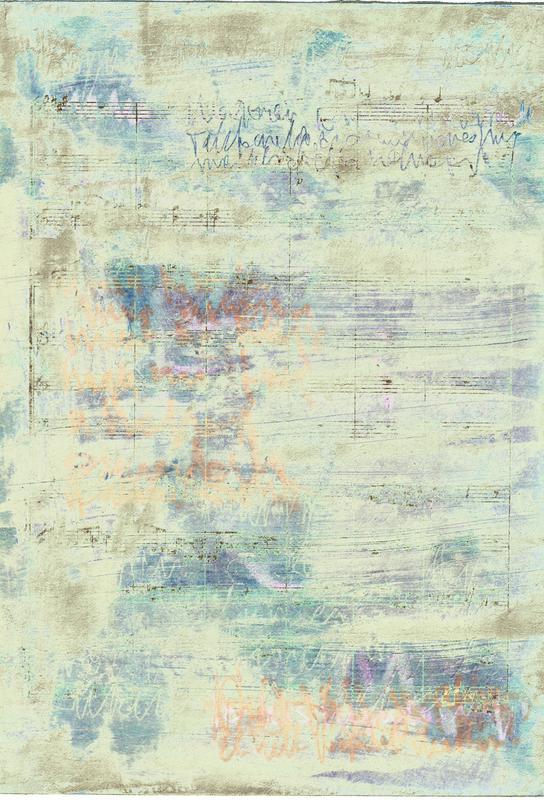 Transcriptions 08 -Acrylglasbild