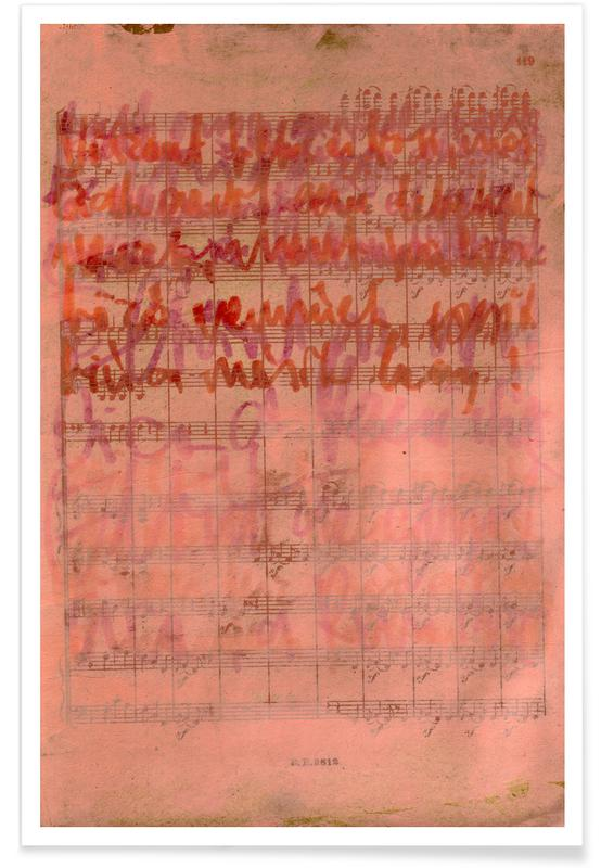 Transcriptions 25 -Poster