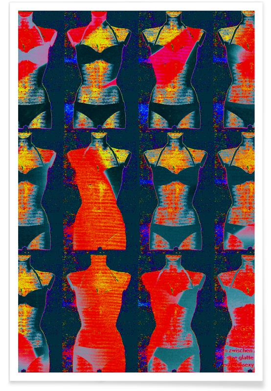 Popart, Dress-Stand 02 poster