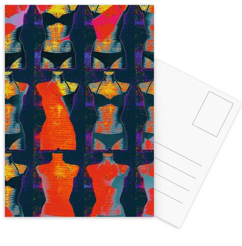 Dress-Stand 02 -Postkartenset