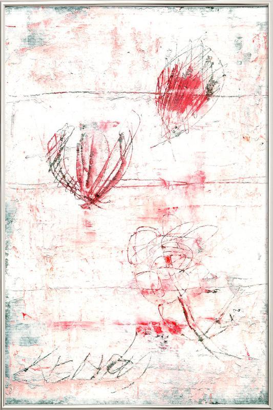 Flower 04 -Poster im Alurahmen