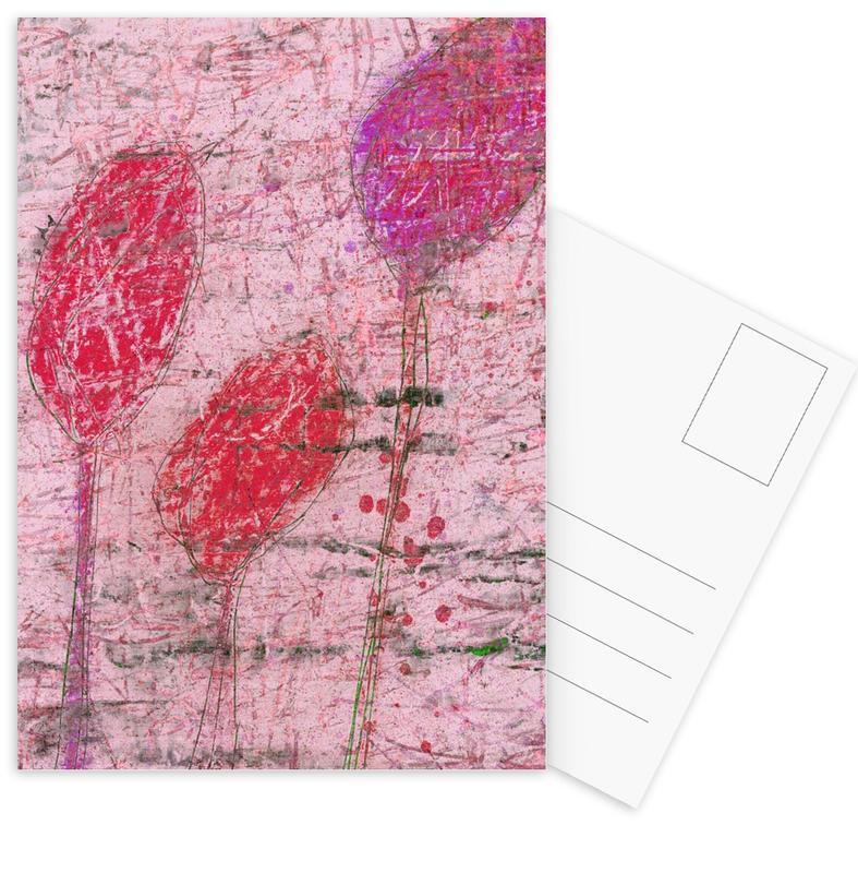 Flower 08 -Postkartenset