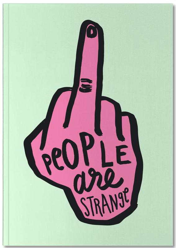 People Are Strange (Colour) Notebook