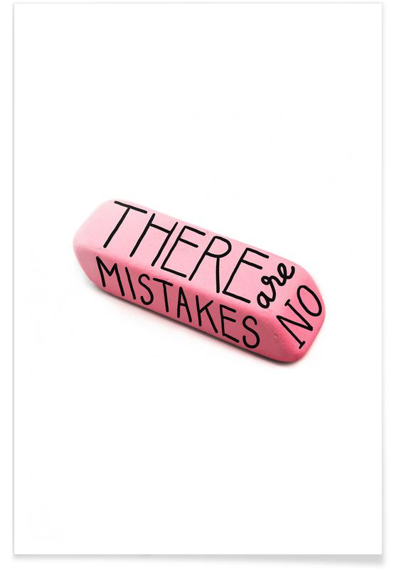 There Are No Mistakes -Poster